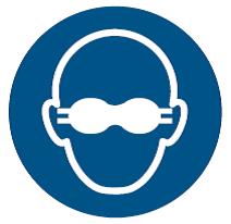 ASR A1.3 Utiliser Le Chemin de pi/éton Selon la Norme ISO 7010 Bleu
